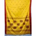 Printed Casual TUSSAR SILK (TASAR SAREE), 5.5 m (separate blouse piece), Packaging Type: Plastic Bag