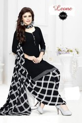 Ladies Unstiched Printed Dress Material