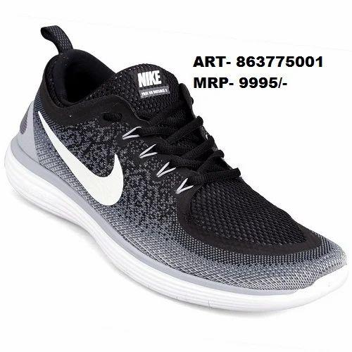 Box Nike Lace Up Sports Shoes, Size: 6