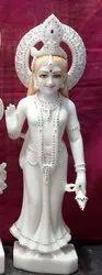 White Marble Radha Statue