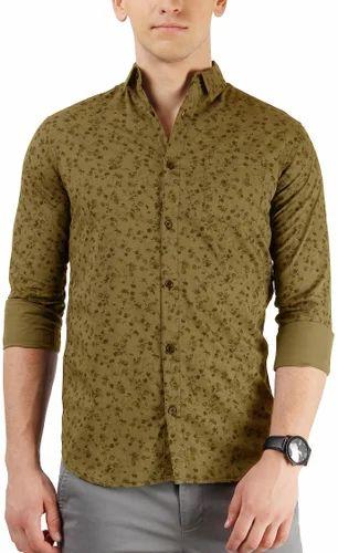 3f8cdcdd3b All Over Floral Print Poplin Shirt