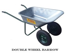 Double Wheel Barrow- GI Sheet