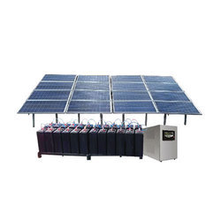 Solar Power Systems with Batteries