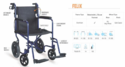 FELIX Basic Aluminium Wheelchair