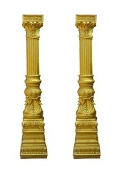 Swan Anchor - Columns For Decoration In Pair