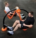 Leg Press Double (Outdoor)