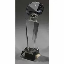 Diamond Triangular Crystal Trophies