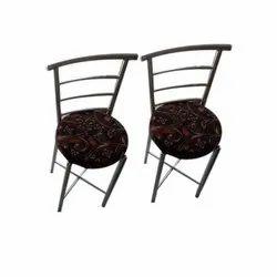 Polished Restaurant Steel Chair