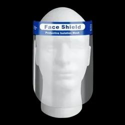 Disposable Safety Face Shield Universal Transparent Full Face Protective Visor Eye And Facial Cover