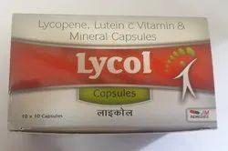 Lycopene Vitamin Capsules