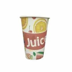 300 ML Juice Printed Paper Glass