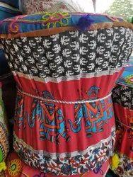 Fabric Ottoman In Jaipur कपड़े का ओटोमन जयपुर Rajasthan