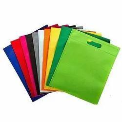 Plain Spunbond Non Woven D Cut Bag, Capacity: 1Kg
