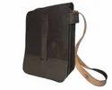 Vertical Leather Sling Bag