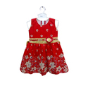 Red Kids Frock