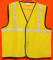 Reflective Vizwear Vests / Jackets 1 Green Front Opening (v-2)