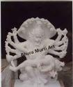 White Marble Narasimha Ji Statue
