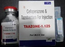 Taazone Cefoperazone Tazobactum, 1.125 Gram, Prescription