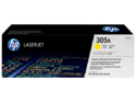 HP 305A Yellow Toner Cartridge (CE412A)