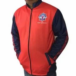 Full Sleeve Polyester Mens Casual Wear Jacket, Size: S-XL