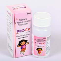 Cefpodoxime 50 Mg & Clavulanate Acid 31.25 Mg Dry Syrup