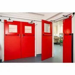 Mild Steel Hinged Safety Door