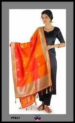 Panchhi Traditional Banarasi Silk Dupatta