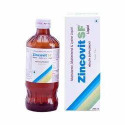 Zincovit SF Multivitamin, Multimineral & Lysine Liquid, 200 ml/bottle