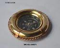 Shiny Mki Brass & Copperifebuoy Compass, Packaging Type: Box