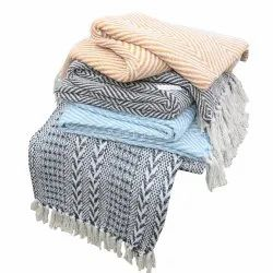Luxuriously Soft Cotton Throw Blanket