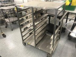 WIPL Tray Rack Trolley