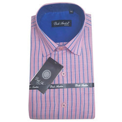 Dick Austin Mens Cotton Striped Shirt