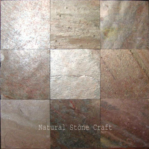 Satin Copper Slate : Copper slate tile design ideas