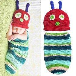 Baby Photo Props Handmade Crochet Colorful Newborn Props