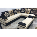 U Shape Stylish Sofa Set