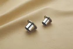 Glossy Stainless Steel Curtain Socket