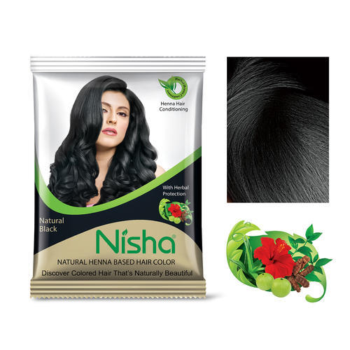 af9ed7b83d8af Burgundy Nisha Natural Henna Based Hair Color For Personal, Rs 9 ...