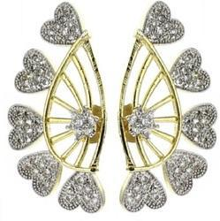 American Diamond Ear Cuff