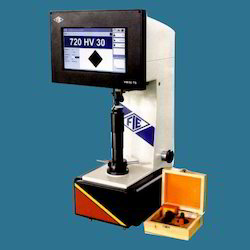 Computerized Touch Screen Vickers Hardness Tester