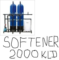 Commercial water softener 2000 KLD