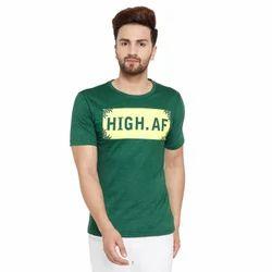 Green Men Half Sleeves T-Shirt