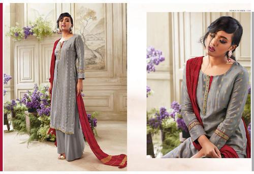 286394fb824405 Salwar Kameez - Heavy Georgette Designer Churidar Straight Salwar Suit  Manufacturer from Surat