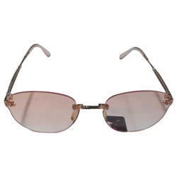 Rimless Sunglasses, Size: Medium