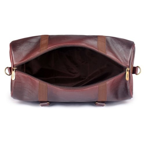 The Clownfish Nomad Travel Duffel Bag (Burgundy) 5fe1d0f8cbca3