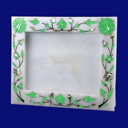 High Quality Marble Inlay Photo Picture Frame