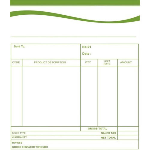 printed bill book at rs 190 piece bill book lippi press