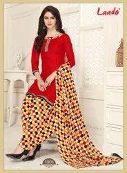 Cotton Laado Priyanka Patiyala Special Stitched Salwar Suit