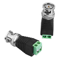 BNC Male Connector For CCTV Camera DVR