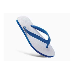 White Rubber Slippers