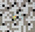 Mixes Series GM53-White Grey Black Mix Tile
